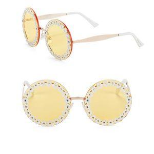 Sam Edelman Circus 60MM Round Daisy sunglasses